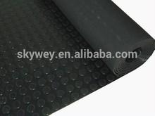 Anti UV and waterproof non slip PVC coin basketball court mat