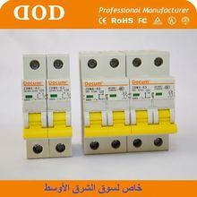 DX 3702PA Type MCB mini circuit breaker mid east 2p 25a mini circuit breaker