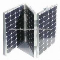 2015 hot selling promotion lower price high quality 200watt folding portable solar panel kit