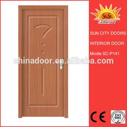 PVC Door,Good price PVC exterior doors for home SC-P141