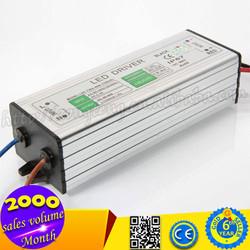 Shenzhen LED Driver AC 85-265V 1200mA High Performance Waterproof LED Driver IP67