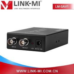 LINK-MI/OEM LM-SAV1 sdi-av converter SDI BNC to RCA AV converter