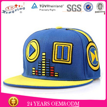 design your own logo cap custom cheap high quality baby hat Image 3D embroidery snapback cap wholesale
