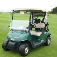 Drivable Person Golf Car Cart Enclosure/Cover - Fits 2 Person Cart