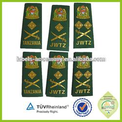 China New Arrival Custom Label 2015 design shoulder patch