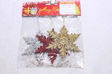 Ceiling Hanging Chritmas Tree Ornaments ,plastic Snowflake Decorations
