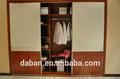 Jisheng guarda-roupa fabrica direto barato armário de armazenamento deslizante ferroviário guarda-roupa