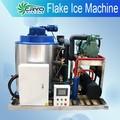 1 tonnellata fiocco a bordo macchina per il ghiaccio, scaglie di ghiaccio di raffreddamento della macchina acqua, scaglie di ghiaccio industriale che fa le macchine