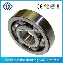 6207 open single row 100% chrome deep groove ball bearing