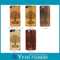 Mobile phone accessory case,cover for wooden iphone 6 case,for iphone 6 wooden skins