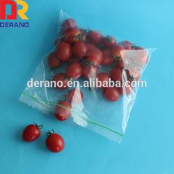 Custom ldpe plastic fresh vegetable packaging bag