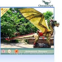 Park Life Size Robotic Dragon Statues