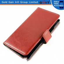 For Galaxy Note 4 flip cover, leather wallet case flip cover for Samsung Note 4