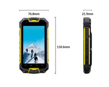 SNOPOW M8 MTK 6589 4.5 inch walkie talkie PTT 5 KM quad core android 4.2.2 gps walkie talkie dual sim rugged military mobile pho
