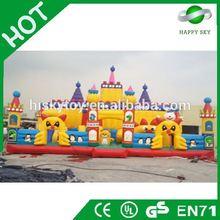 2015 Brand New Design inflatable fun city amusement park,jungle tree inflatable amusement park,fun city