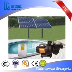 SDW-D10P Solar Water Pump for Swimming Pools with controller and sensors