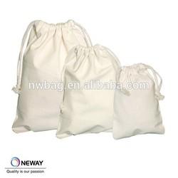 CUSTOMIZED DRAWSTRING NATURAL COTTON BAG