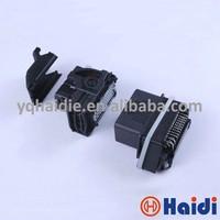 auto waterproof power 48 pin female housing automotive ecu connector