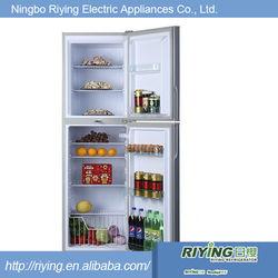 Sliver stainless glass refrigerator fridge