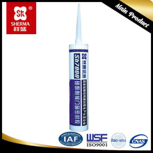 Various types of door and window installation silicone sealant colours