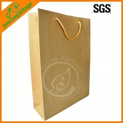 Thick quality paper gift bag with clear logo
