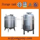 Stainless steel olive oil storage tanks