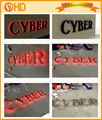 Personalizado de acero inoxidable con retroiluminación led de signos, sistema de iluminación al aire libre de letras de canal