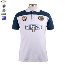 China custom mens Embroidery branded men polo shirt
