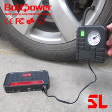 80PSI 12V 12000mah boltpower G06A mini car jump starter emergency tools car jump start kit