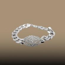 2015 China Beautiful women zircon bracelet Gold Plated luxury women fashion Jewelry