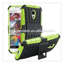 Roiskin spigen hybrid cell phone case for moto g with kickstand