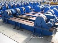 Bolts adjustable welding rotator