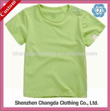 high quality cotton baby boy t-shirt wholesale