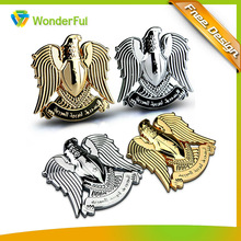 Personalized Automotive Car UAE Eagle Symbol Plastic Car Emblem