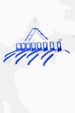 best selling plastic hanger hanger with metal clip pegs