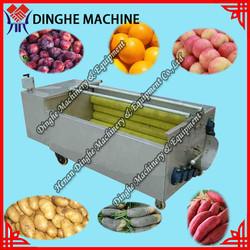 Cheap price fruit and vegetable washing machine/brush type washer/peanut washing machine/potato washing machine