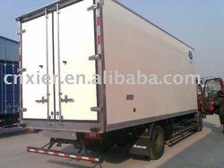 small truck trailer part refrigerator trailer