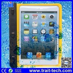 Thin Multifunction PVC+ABS Waterproof case for iPad Mini