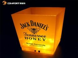 2015Hot popular selling PP illuminated beer bucket