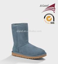 Classic short 5825 Blue Cow suede Australia sheepskin leather Snow boots