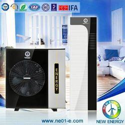 domestic air source floor heat pump oem factory evi -25 degree split heat pump