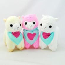 2014 2015 new year plush alpaca toy / alpaca stuffed animal