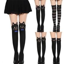 Woman Cute Animal Pantyhose Japan Sexy Party Tail Stockings Print thigh high stockings SV009661