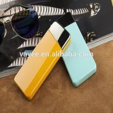 2015 Hottest Promotion! Super slim wallet size backup battery 5500mah portable usb charger manufacturer