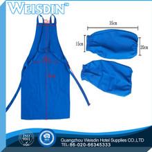 Loops&woven belt Twill weave chef stripe pattern waterproof cooking half apron