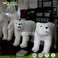 tamaño de la vida de robótica del oso polar disfraces