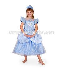 NEW Cinderella Deluxe Glitter & Glow Costume with Headband BC355