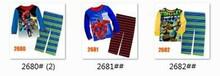 Girls Boys Cartoon Pajamas Sets Kids Clothing Set Wholesale Children 8-12Y LongSleeve Clothes 2680