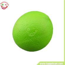 Wholesale Great Cool Fruit Pu Ball,Green Lemon Pu Sress ball toys