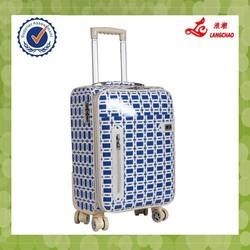 Decent trolley bag trolley luggage with 4 universal wheels